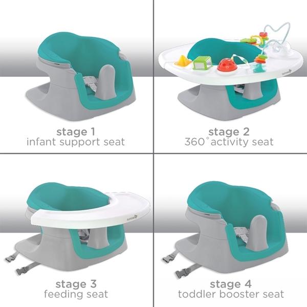 Summer Infant Κέντρο Δραστηριοτήτων Super Seat 4 σε 1, Blue