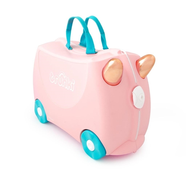 Trunki Παιδική Βαλίτσα Ταξιδίου Flossi The Flamingo