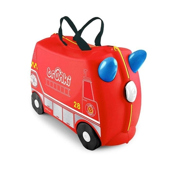 Trunki Παιδική Βαλίτσα Ταξιδίου Frank The Fire Engine