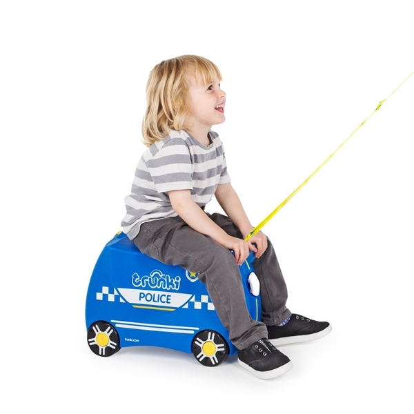 Trunki Παιδική Βαλίτσα Ταξιδίου Percy The Police Car