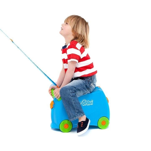 Trunki Παιδική Βαλίτσα Ταξιδίου Terrance Blue