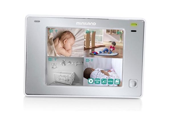 "MiniLand Ενδοεπικοινωνία με Camera & Οθόνη 3.5"" Digimonitor Touch"