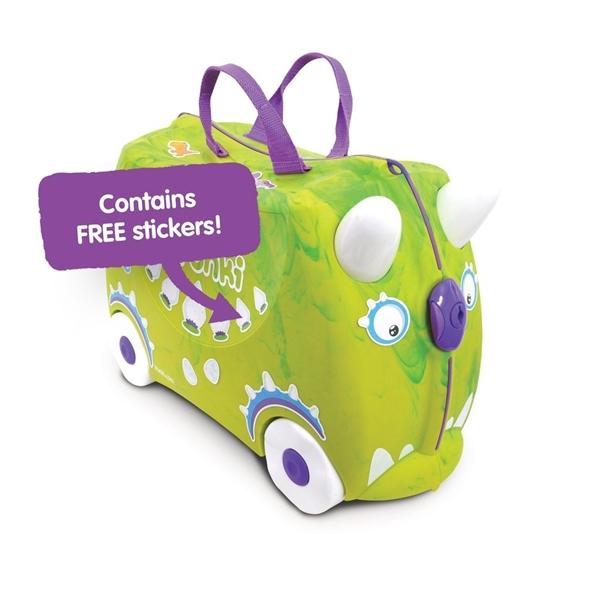 Trunki Παιδική Βαλίτσα Ταξιδίου Rex The Dino