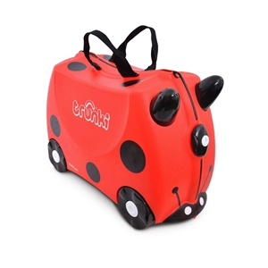 Trunki Παιδική Βαλίτσα Ταξιδίου Harley The Ladybird