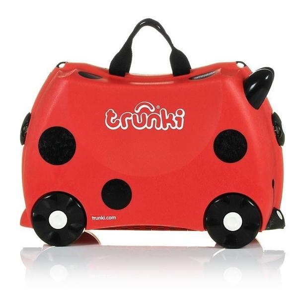 Trunki Παιδική Βαλίτσα Ταξιδίου Harley The Ladybird