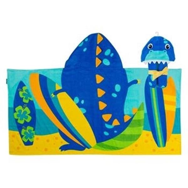 Παιδική πετσέτα με κουκούλα, Dino