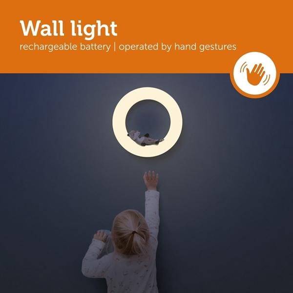 Zazu Έξυπνο Φωτιστικό τοίχου με χειρονομίες 3 Ζωάκια