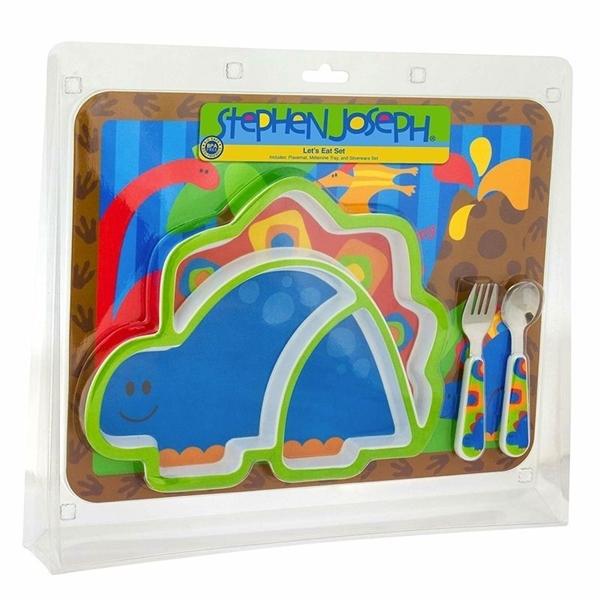 Stephen Joseph Παιδικό Σετ Φαγητού, Dino