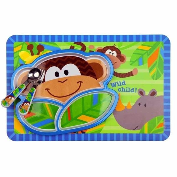 Stephen Joseph Παιδικό Σετ Φαγητού, Monkey