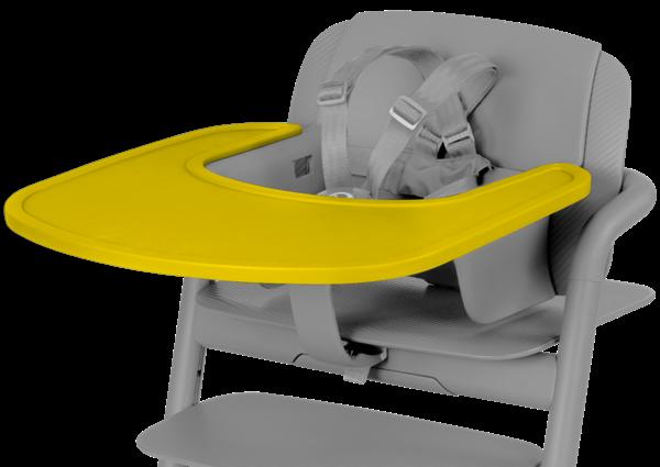 Picture of Cybex Δίσκος Για Καρέκλα Φαγητού Lemo, Canary Yellow