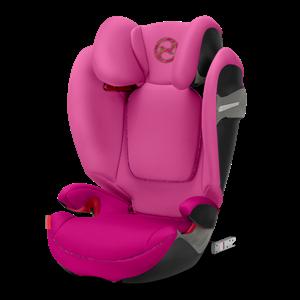 Cybex Παιδικό Κάθισμα Solution S-Fix, 15-36 kg. Fancy Pink