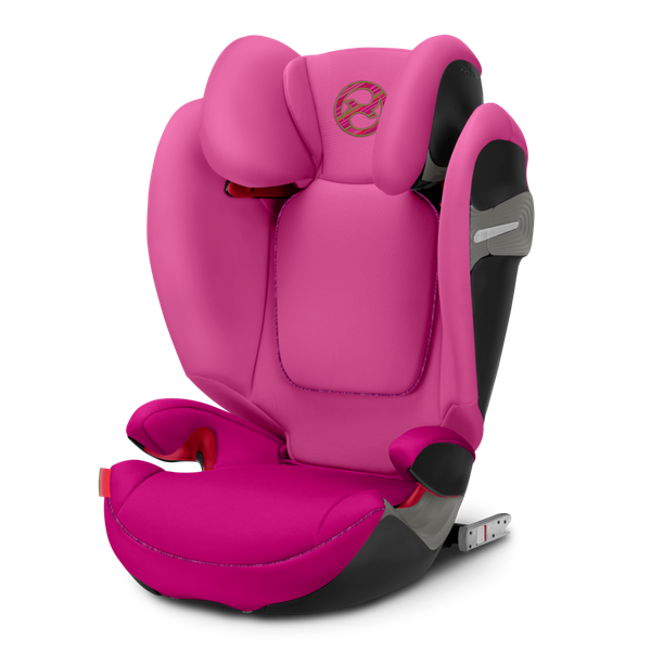 Cybex Παιδικό Κάθισμα Solution S-Fix, 15-36 kg. Fancy Pink