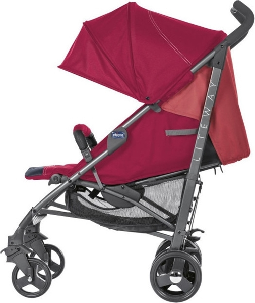 Chicco Παιδικό Καρότσι Lite Way 3 Top, Red Berry