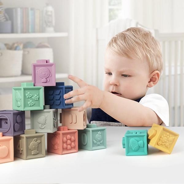 Baby To Love Εκπαιδευτικοί 3D Κύβοι