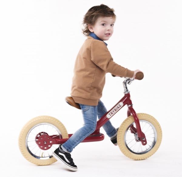 Trybike Ποδήλατο Ισορροπίας Κόκκινο Vintage