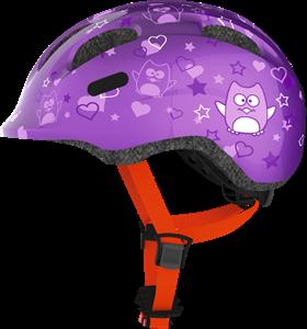 Abus Παιδικό Κράνος Smiley 2.0 Purple Star