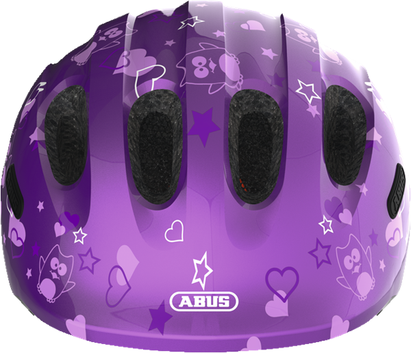 Picture of Abus Παιδικό Κράνος Smiley 2.0 Purple Star Small