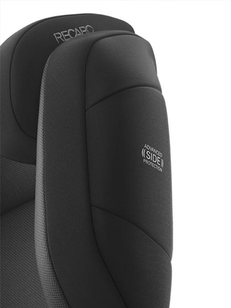 Recaro Παιδικό Κάθισμα Αυτοκινήτου Monza Nova Evo SeatFix Performance Black
