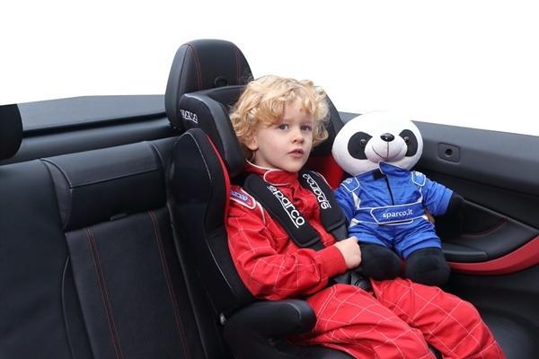 Sparco Καθισμα Αυτοκινήτου SK700 9-36kg. Red Black