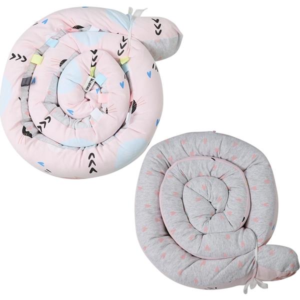 Picture of Minene Πολυχρηστικό Μαξιλάρι – Snuggly Snake Cotton Pink Kitty