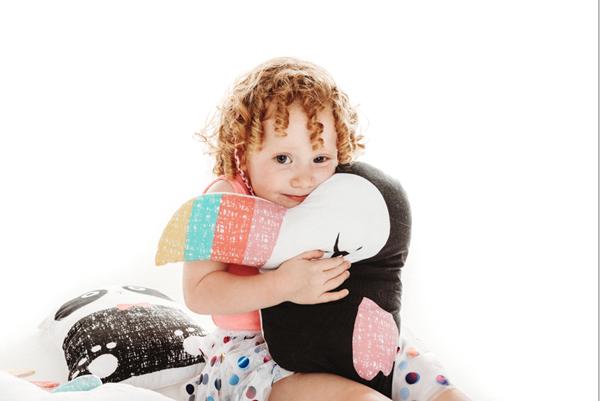 Bizzi Growin Παιδικό Μαξιλάκι Toucan