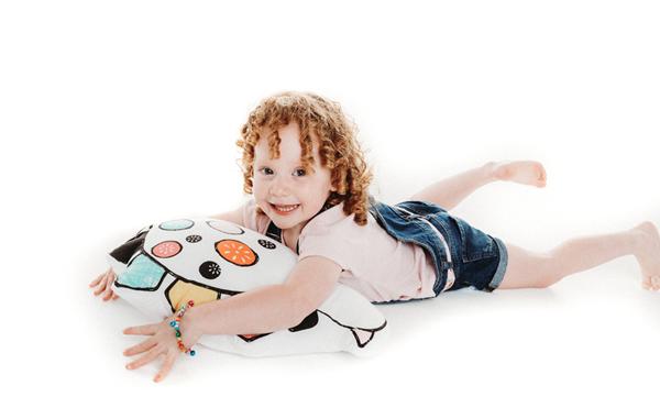 Bizzi Growin Παιδικό Μαξιλάκι Dino Doris