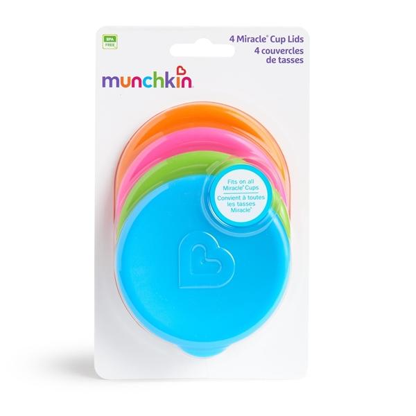Munchkin Kαπάκια Για Ποτηράκι Miracle 4 τεμ.