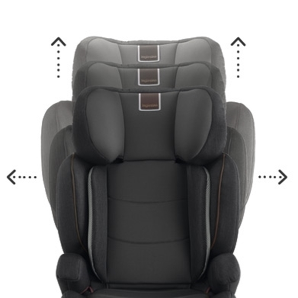Picture of Inglesina Παιδικό Κάθισμα Αυτοκινήτου Tolomeo I-Fix 15-36kg. Grey