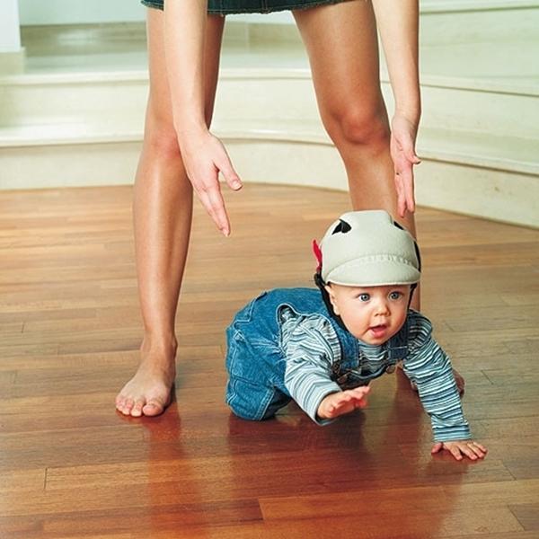 Ok Baby Καπέλο Προστασίας No Shock, Beige