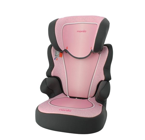 Nania Κάθισμα Αυτοκινήτου BeFix SP 15-36 kg. Skyline Pink