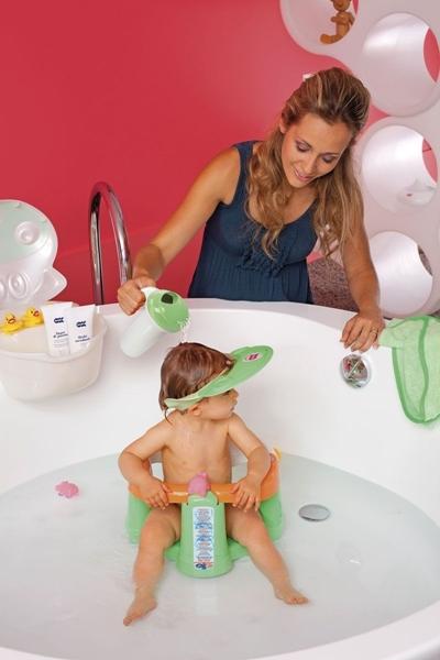 OK Baby Προστατευτικό Γείσο Ματιών κατά το Λούσιμο Hippo Green