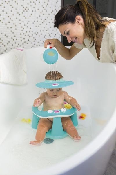 OK Baby Προστατευτικό Γείσο Ματιών κατά το Λούσιμο Hippo Blue