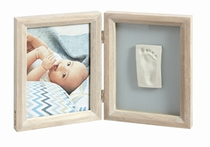 Picture of Baby Art Κορνίζα Αποτύπωμα White Stormy