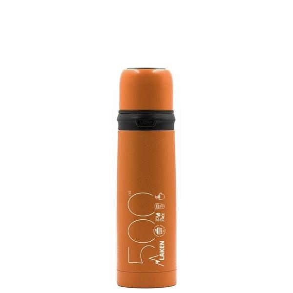 Laken Θερμός Inox 0.5L Πορτοκαλί