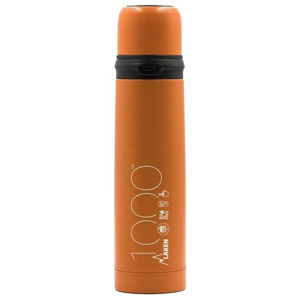 Laken Θερμός Inox 1L. Πορτοκαλί