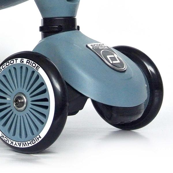 Scoot and Ride Ποδήλατο Ισορροπίας & Πατίνι 2 σε 1 HighWayKick 1, Steel