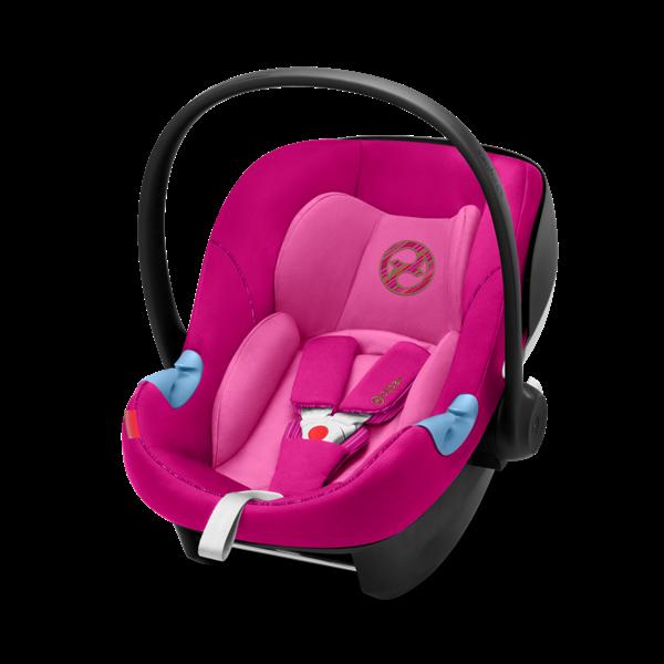 Cybex Κάθισμα Αυτοκινήτου Aton M I-Size 0-13kg, Fancy Pink