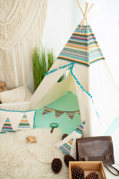 CozyDots Παιδική σκηνή Tepee Tent Indian