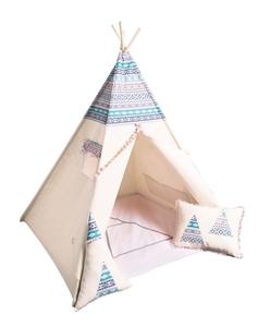 CozyDots Παιδική σκηνή Tepee Tent Aztec