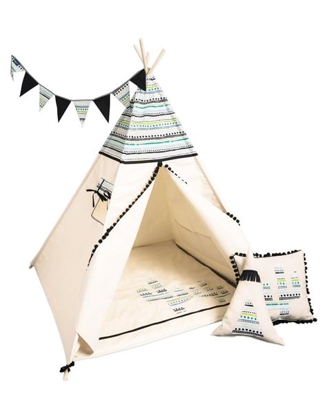 CozyDots Παιδική σκηνή Tepee Tent Aztec 2