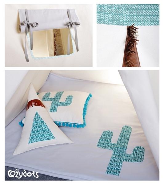 CozyDots Παιδική σκηνή Tepee Tent Mexican