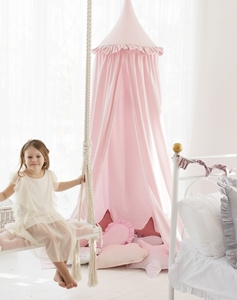 CozyDots Παιδική Κουνουπιέρα Canopy Tent Powder Pink