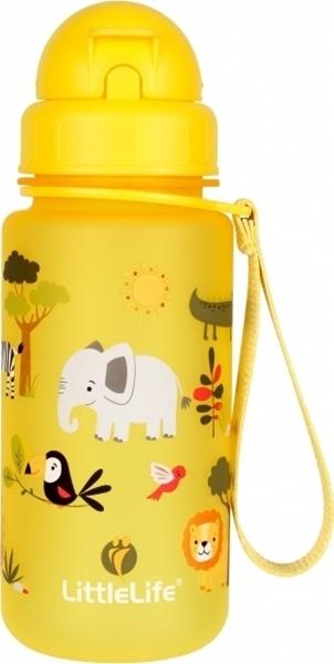 LittleLife Παγούρι 400 ml με καλαμάκι Safari