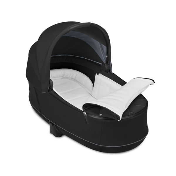 Cybex Lux Carry Cot for Priam, Deep Black