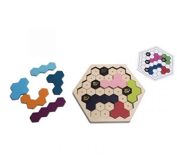 BS Toys Puzzzzle Beezzz – Παζλ Μέλισσες