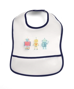 Mamas & Papas Σαλιάρα με Τσέπη Robot
