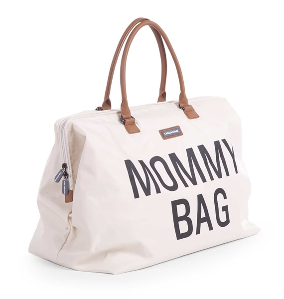 Childhome Τσάντα Αλλαγής Mommy Bag Big Off - White