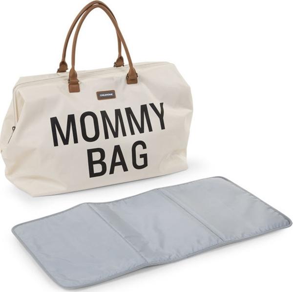 Childhome Τσάντα Αλλαγής Mommy Bag Big Off - White