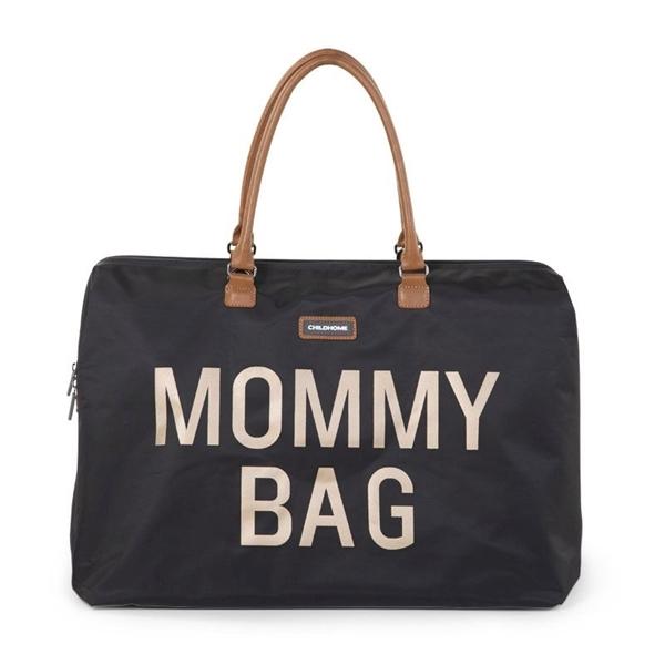 Childhome Τσάντα Αλλαγής Mommy Black Gold