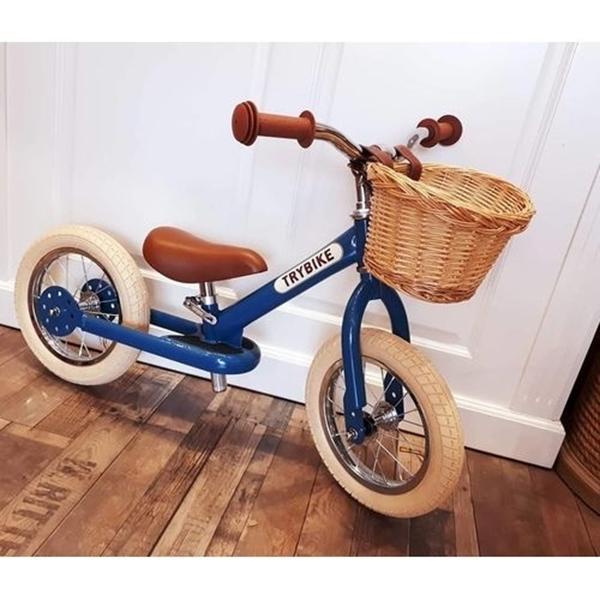Trybike Ποδήλατο Ισορροπίας Μπλε Vintage